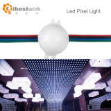 luz 12V Digitaces RGB del pixel de la fuente de luz de punta Ucs1903 de 30m m LED para el parque de atracciones del Cabochon