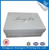 Коробка ботинка белой бумаги высокого качества упаковывая