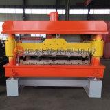 Broodje dat van het Blad van het Dakwerk van het Metaal van de uitvoer het StandaardMachine vormt