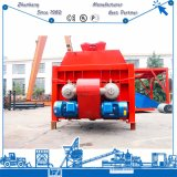 Eje gemelo Harga de Js1500 Daftar mezclador concreto de 1500 litros