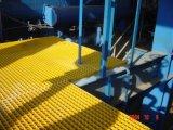 Установите противоскользящие FRP литые решетку с H15 38,1*38,1 сетка