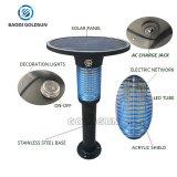 Im Freien wirkungsvoller Elektroschock-Solarmoskito-Blockiermörder-Licht/Lampen-Hersteller