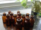 20ml USP Typ II u. III bernsteinfarbige geformte Glaseinspritzung-Glas-Phiole