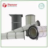 Gesponnene geklebte Polyester-Luftfilter-Kassette in der industriellen Filtration