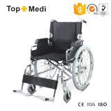 病院の医学のFoldable取り外し可能な鋼鉄手動車椅子Tsw908aq