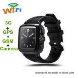 Oksmartのスマートな腕時計Uc08 GPSの心拍数2016年のSmartwatch 3G Oksmart米国