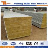 La Chine de la fabrication des panneaux sandwich pour la construction de structures en acier