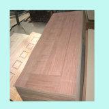 Placage de placages tranchés Sapeli conçu pour le mobilier ou de la porte de la peau
