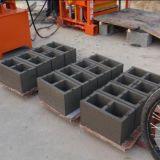 Bloc de béton stationnaire simple ligne de machine à fabriquer des briques