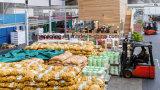 Armazenamento frio do grande tamanho da capacidade elevada para vegetais e frutas