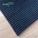 La nervadura Anti-Abrasive patrón estrecho Natural suelos de caucho