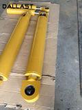 Cilindro hidráulico ativo do dobro do brinco para a maquinaria da engenharia