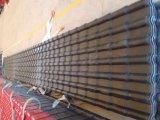 Costruzione che sviluppa materia prima, strato ondulato del tetto del metallo dello zinco di colore
