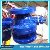2PC шариковый клапан литой стали Wcb/CF8/CF8m плавая