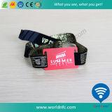 Ткань из тончайшего браслет RFID NFC браслет для участия в мероприятиях Фестиваля