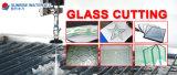Macchinario di taglio del getto di acqua di asse di buona qualità 3 per taglio del vetro