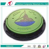 Cobertura de reservatório de resina sintética circular resistente