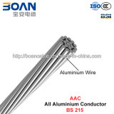 AAC Conductor, todos los conductores de aluminio (BS 215)