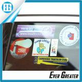Doppeltes seitliches Drucken UVProteced Dekoration-Auto-Fenster-Aufkleber, kundenspezifischer Auto-Fenster-Aufkleber