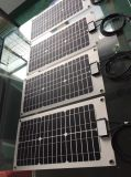 50W panel solar flexible hecha por la célula solar Sunpower