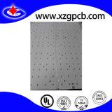 PCB de aluminio con agujero avellanador de oro y de inmersión.
