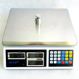 Nachladbare Batterie-industrielle Preiskalkulations-Schuppe (30kg/0.1g)