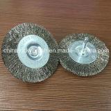 6mm Shank (YY-232)の鋼鉄Wire Polishing Wheel Brush