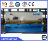 Tesoura da placa do metal do NC, máquina de corte hidráulica do controle de sistema E21