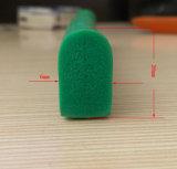 Kundenspezifischer Schaumgummi-Quadrat-Silikon-Gummi-Dichtungsstreifen