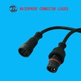 Connettore impermeabile personalizzato di illuminazione esterna di lunghezza di cavo LED