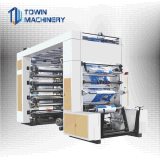 Горячий продавать 8 цветов Flexo машины для печати бумага PE PP стабилизатора поперечной устойчивости
