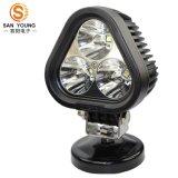 Lumière de travail LED série 30W CREE, 3PCS * Lampe de travail à LED 10W, Spot / Flood Lumière de travail à LED pour camions