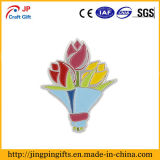 Mazzo del Pin variopinto del risvolto dello smalto dei tulipani