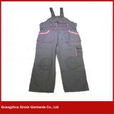 Poly combinaison de sûreté de coton pour la combinaison fonctionnante de vêtements de travail industriels (W58)