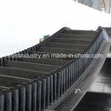 Gewölbtes Seitenwand-Förderband des Stahlnetzkabel-Unterseiten-Riemens