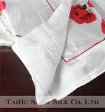 Taihu Snow Rose Pattern 100% Conjunto de cama de seda