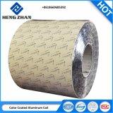 Certificat ISO des matériaux de construction en aluminium peint de couleur/imprimé bobine/bande de suspension en bois plafond U-forme de grains