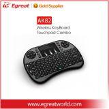 Toetsenbord Qwerty 2.4G Draadloze Mini 3 van de Sleutels van Egreat Ak82 92 het Draadloze in 1 Multifunctioneel Draadloos Toetsenbord Qwerty