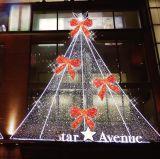 Los nuevos LED populares calles de tiendas de decoración de la cinta de Navidad