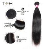 Cabelo humano direto brasileiro 100% de cabelo humano tecem Bundles 10-28polegada Cor Natural Envio gratuito Remy Hair tecem