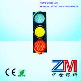 Semáforo de plena pantalla del LED/señal de tráfico que contellean rojos de 12 pulgadas y ambarinos y verdes