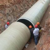 GRP FRPの製紙の下水のパイプラインGRPの下水の配水管