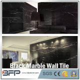 Mattonelle di marmo nere della parete per la facciata della parete della priorità bassa della stanza da bagno Surrounding/TV/parete della parte esterna