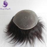 人間の毛髪の完全なモノラル基礎毛の部分のToupee (TP27)