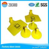 Zahl Printed und Barcode Printed RFID Ear Tag für Animal Management