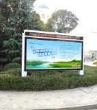 avec DEL Screen Display Outdoor Roadside Scrolling Advertizing Light Box