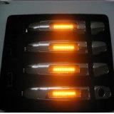 Os punhos de porta leves novos do carro do diodo emissor de luz