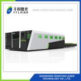 1500W CNC 가득 차있는 동봉하는 보호 금속 섬유 Laser 절단기 6020
