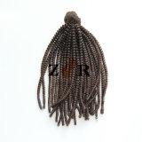 Het maagdelijke van het Menselijke Haar Natural Color Brazilian Haar van Jerry Curl