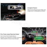9.88 pulgadas Full Touch Monitor Retrovisor Ahd 720p de doble sistema de cámaras de grabación coche Dash